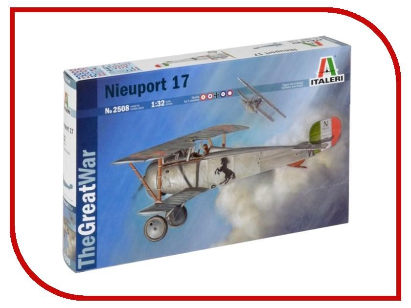 Сборная модель Italeri 1-я Мировая- Самолёт Nieuport 17 2508 сборная модель italeri самолет cant z 506 airone 1360