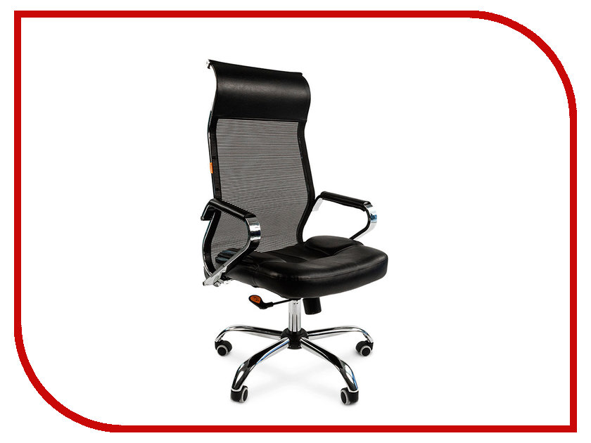 Компьютерное кресло Chairman 700 Black 00-07014824 компьютерное кресло chairman 769 tw 11 black 00 06032440