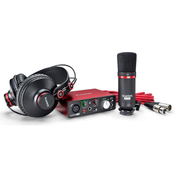 Комплект для звукозаписи Focusrite Scarlett Solo Studio 2nd Gen цена