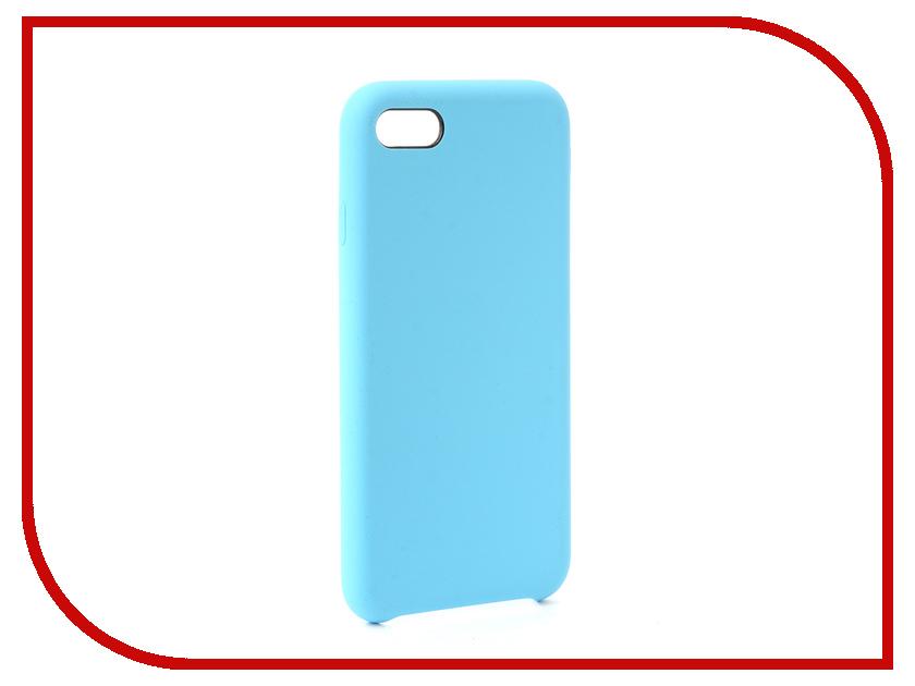 Аксессуар Чехол-накладка Smarterra Marshmallow Cover Light Blue для APPLE iPhone 7 MMCIP7BL аксессуар чехол накладка smarterra marshmallow cover pink для apple iphone 7 plus mmcip7ppk