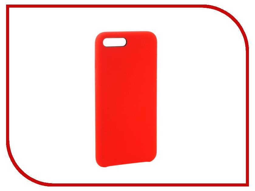 Аксессуар Чехол-накладка Smarterra Marshmallow Cover Red для APPLE iPhone 7 Plus MMCIP7PRD аксессуар защитное стекло activ 3d red для apple iphone 7 plus 69759