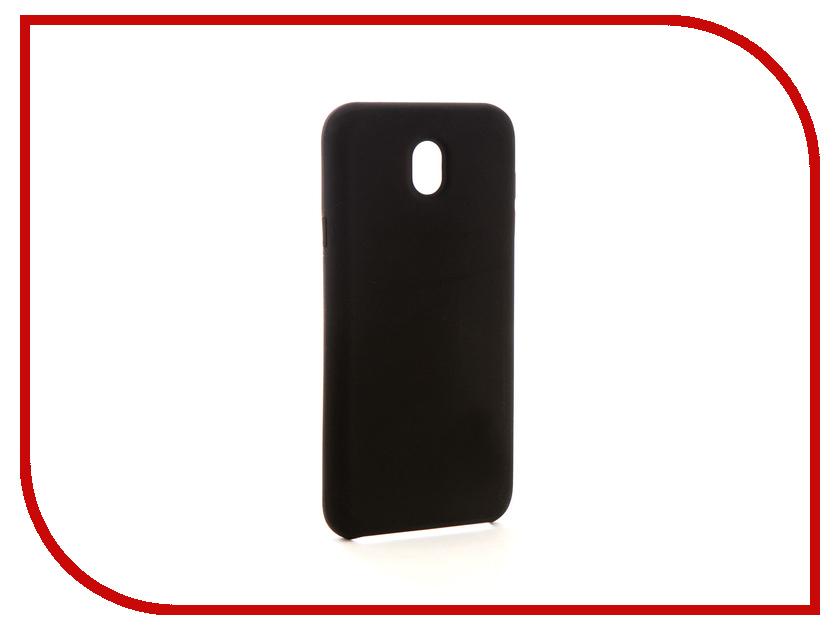 Аксессуар Чехол-накладка Samsung Galaxy J5 2017 Smarterra Marshmallow Cover Black MMCSJ517BK плеер qumo marshmallow 8gb black 20576