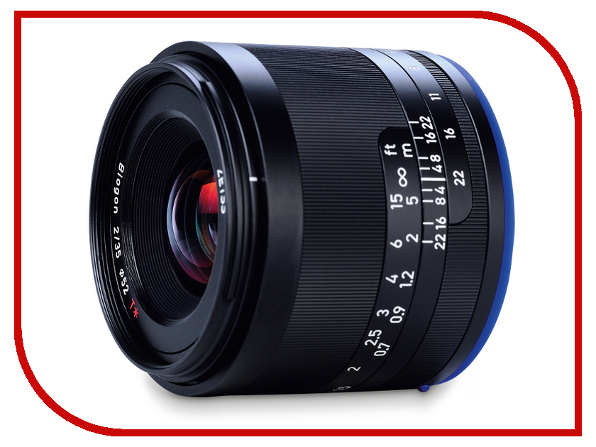 Объектив Carl Zeiss 35mm f/2.0 2/35 Loxia for Sony E 2103-749 carl zeiss touit 1 8 32