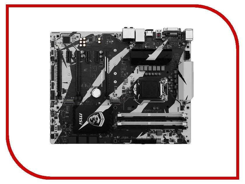 Материнская плата MSI B250 KRAIT GAMING msi original zh77a g43 motherboard ddr3 lga 1155 for i3 i5 i7 cpu 32gb usb3 0 sata3 h77 motherboard