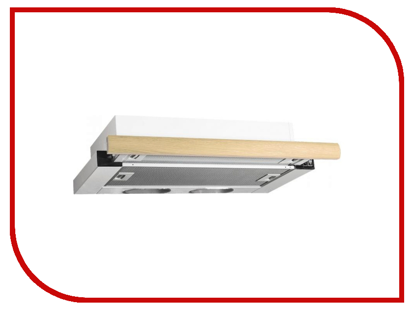 Кухонная вытяжка Elikor Интегра 60П-400-В2Л КВ II М-400-60-260 White / Oak встраиваемая вытяжка elikor интегра 60 крем крем