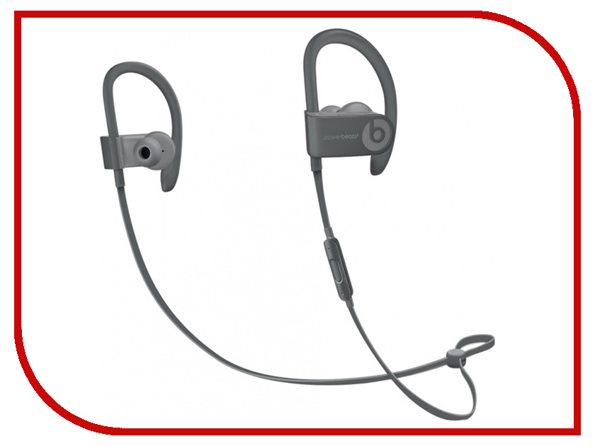 Гарнитура Beats Powerbeats 3 Wireless Asphalt Gray MPXM2ZE/A beats mixr red