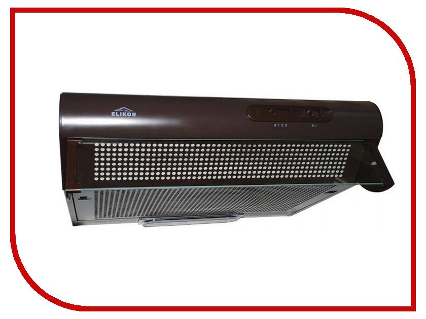 Кухонная вытяжка Elikor Davoline 60П-290-П3Л КВ II М-290-60-163 Brown цена и фото