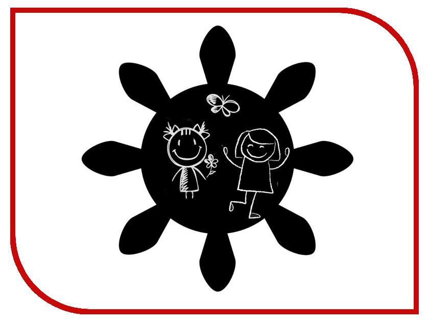Меловая доска Мел посмел Солнце K30 меловая наклейка пингвин размер а3 мел посмел