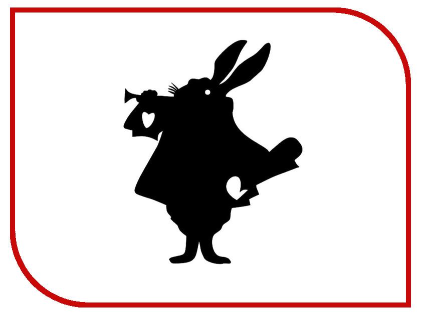 Меловая доска Мел посмел Кролик K44 меловая наклейка пингвин размер а3 мел посмел