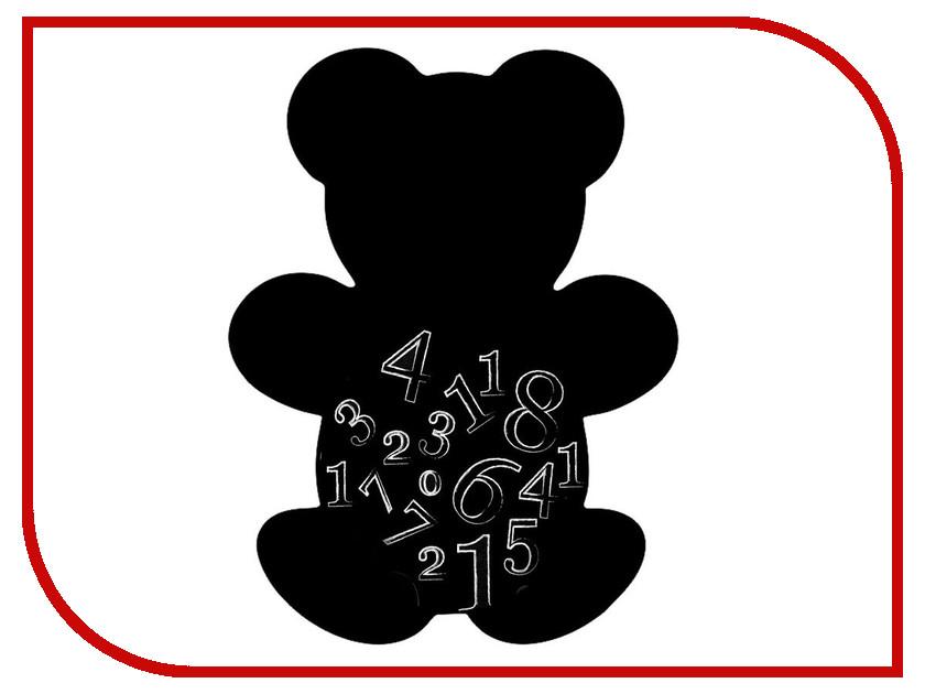 Меловая доска Мел посмел Мишка K46 меловая наклейка пингвин размер а3 мел посмел