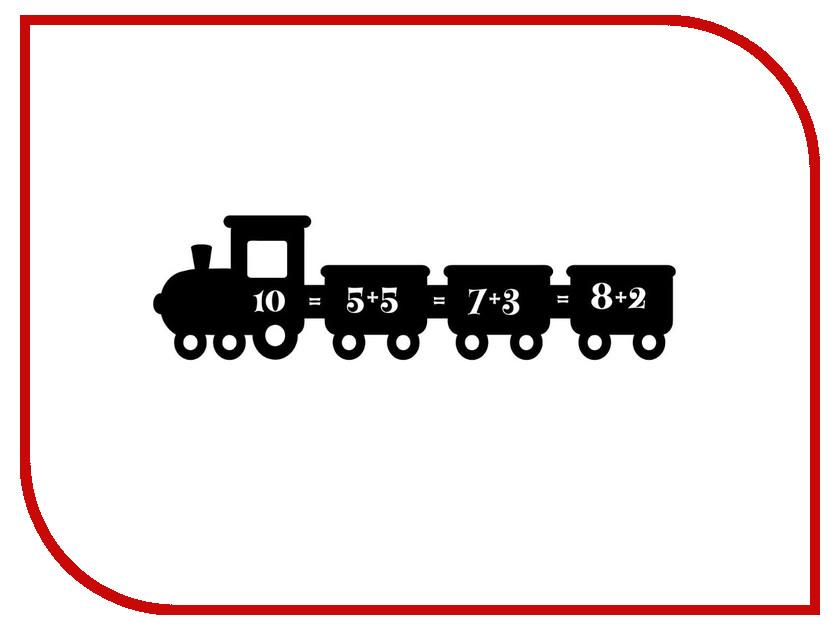 Меловая доска Мел посмел Поезд K51 меловая наклейка пингвин размер а3 мел посмел