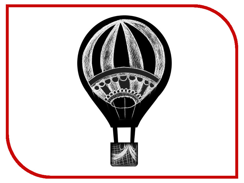 Меловая доска Мел посмел Воздушный шар K56 меловая доска мел посмел клубника m2