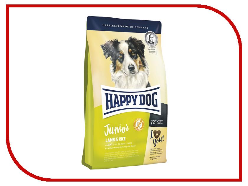Корм Happy Dog Junior Ягненок/Рис - 10kg 60413 для щенков корм для собак happy dog новая зеландия для мелких пород ягненок рис сух 300г