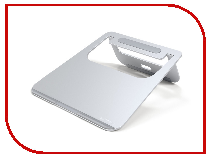 Аксессуар Подставка Satechi Aluminum Laptop Stand для APPLE MacBook Silver ST-ALTSS аксессуар док станция для hdd satechi aluminum usb 3 0 sata iii hdd ssd docking station b00s717jh6 st u3ads