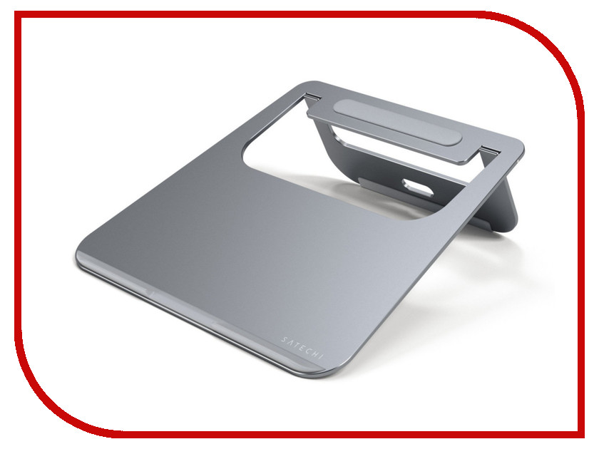 Аксессуар Подставка Satechi Aluminum Laptop Stand для APPLE MacBook Grey ST-ALTSM аксессуар док станция для hdd satechi aluminum usb 3 0 sata iii hdd ssd docking station b00s717jh6 st u3ads