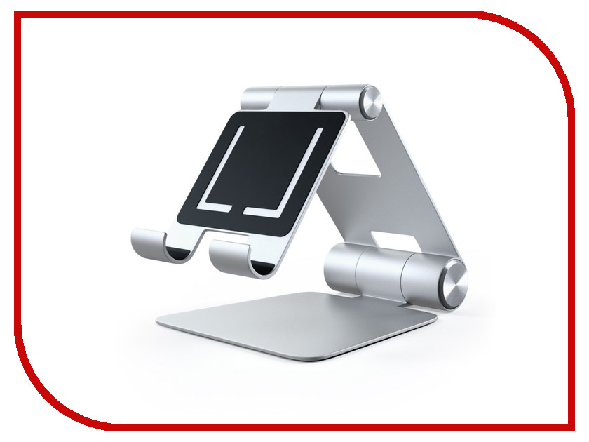 Аксессуар Подставка Satechi R1 Aluminum Hinge Holder Foldable Stand для APPLE iPad Silver ST-R1 аксессуар док станция для hdd satechi aluminum usb 3 0 sata iii hdd ssd docking station b00s717jh6 st u3ads