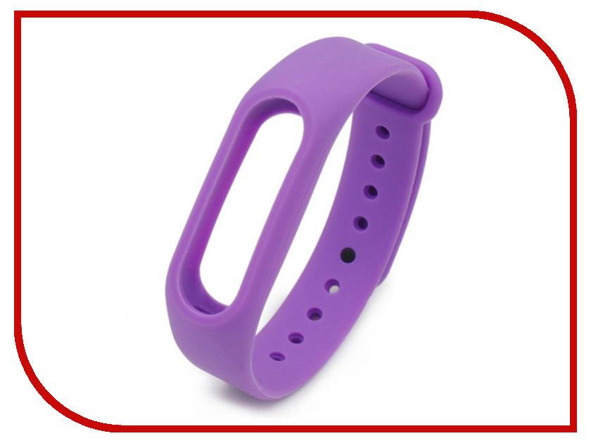Aксессуар Ремешок Xiaomi Mi Band 2 Purple [package c]xiaomi mi band 2 smart bracelet official global version