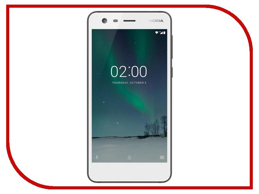 Сотовый телефон Nokia 2 Dual Sim White сотовый телефон nokia 5 dual sim blue