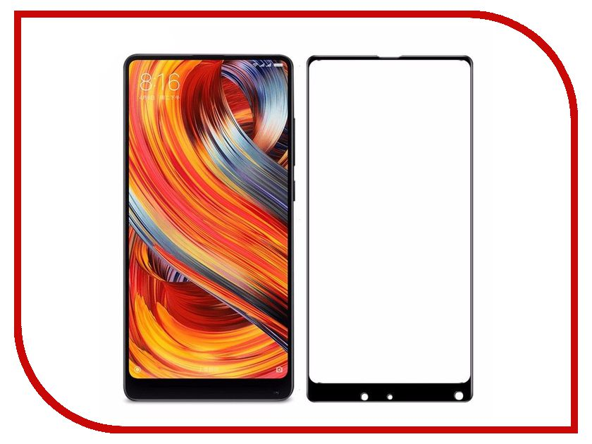 Аксессуар Защитное стекло для Xiaomi Mi Mix 2 Svekla Full Screen Black ZS-SVXIMIMIX2-FSBL аксессуар защитное стекло для huawei honor 7a svekla full screen black zs svhwh7a fsbl
