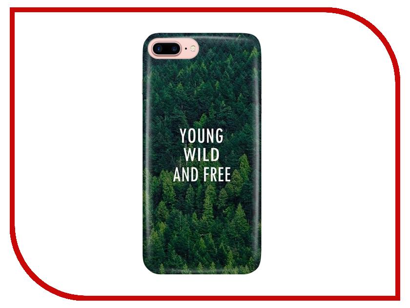 Аксессуар Чехол With Love. Moscow для Apple iPhone 7 Plus / 8 Plus Young Wild and Free 2081 free shipping 5pcs lot dm3485earz adm3485 adm348 5earz sop 8 100