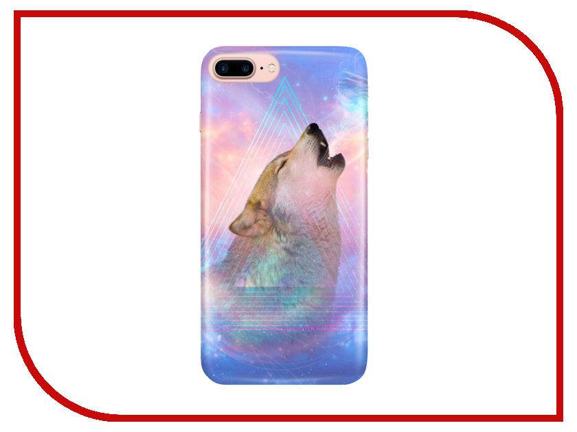 Аксессуар Чехол With Love. Moscow для Apple iPhone 7 Plus / 8 Plus Wolf 2090 чехлы для телефонов with love moscow силиконовый дизайнерский чехол для meizu m3s перья