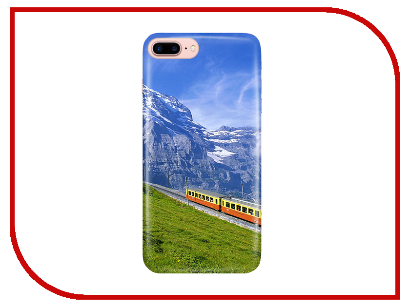 Аксессуар Чехол With Love. Moscow для Apple iPhone 7 Plus / 8 Plus Mountains 2092 higher calling road cycling's obsession with the mountains