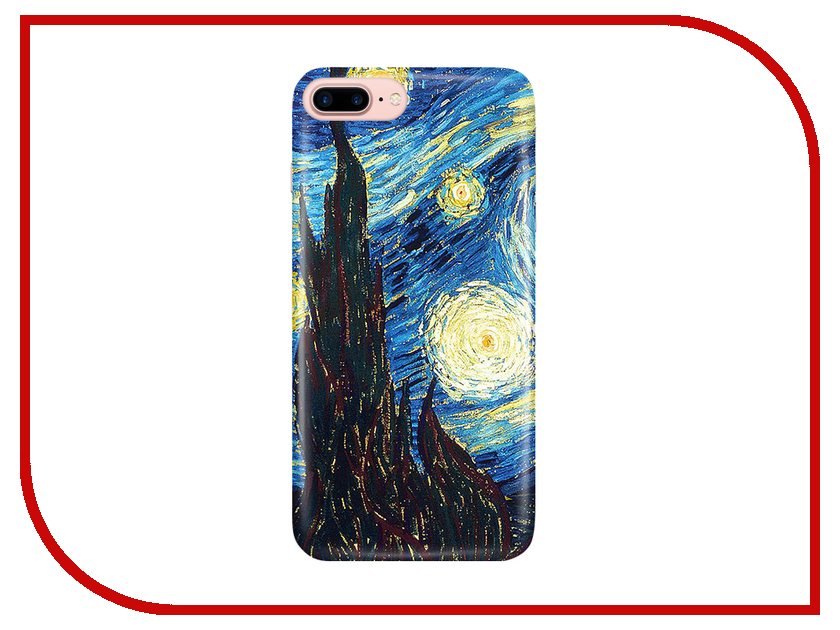 Аксессуар Чехол With Love. Moscow для Apple iPhone 7 Plus / 8 Plus Starlight Night 2094 аксессуар чехол samsung galaxy s8 with love moscow starlight night 7037