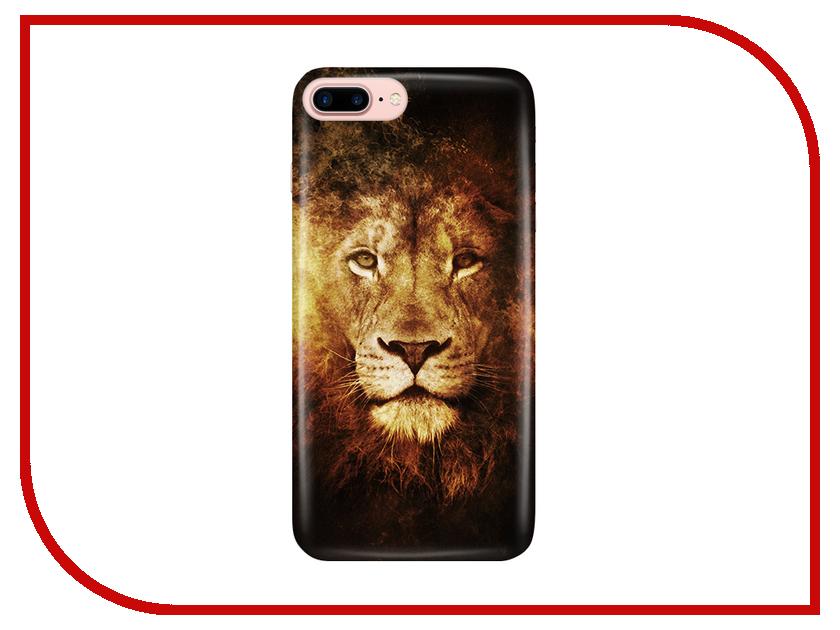 Аксессуар Чехол With Love. Moscow для Apple iPhone 7 Plus / 8 Plus Lion 2 2102 чехлы для телефонов with love moscow силиконовый дизайнерский чехол для meizu m3s перья