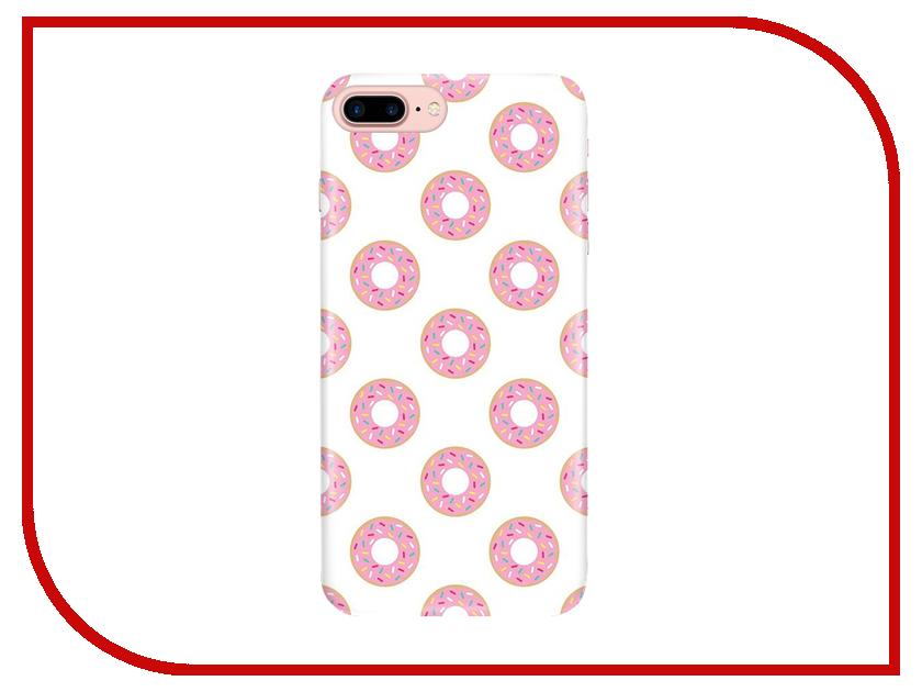 Аксессуар Чехол With Love. Moscow для Apple iPhone 7 Plus / 8 Plus Donuts 2117 аксессуар чехол with love moscow для apple iphone 8 кожаный black 10200