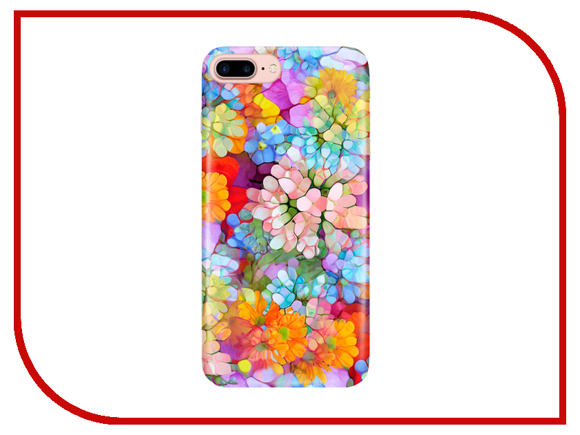 Аксессуар Чехол With Love. Moscow для Apple iPhone 7 Plus / 8 Plus Flower Pattern 2125