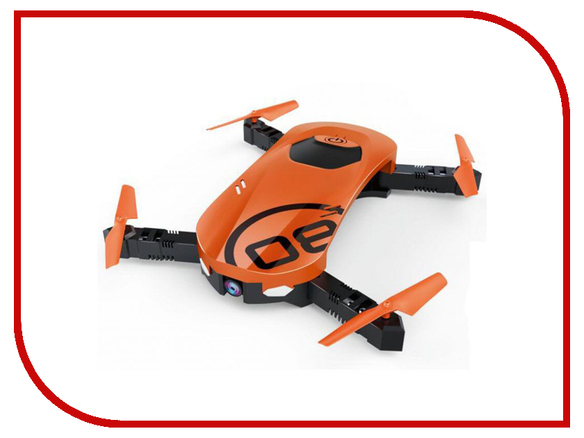 Квадрокоптер HJ Toys Mini Pocket Drone HJ-W606-8 Orange-Black радиоуправляемый квадрокоптер hj toys lily drone fpv