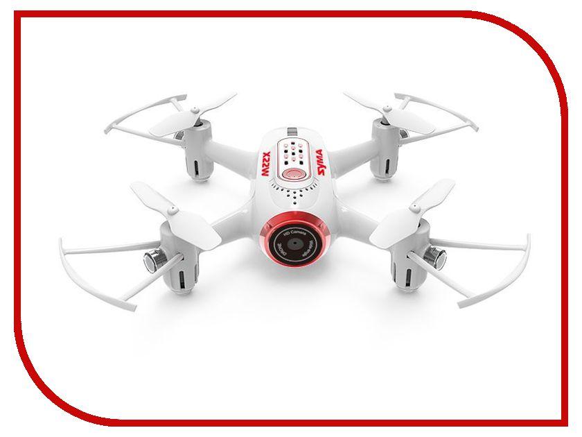 Квадрокоптер Syma X22W White syma x8 x8c x8w x8g x8hc x8hw x8hg rc drone spare parts landing gear upgrade version quadcopter helicopter landing skids