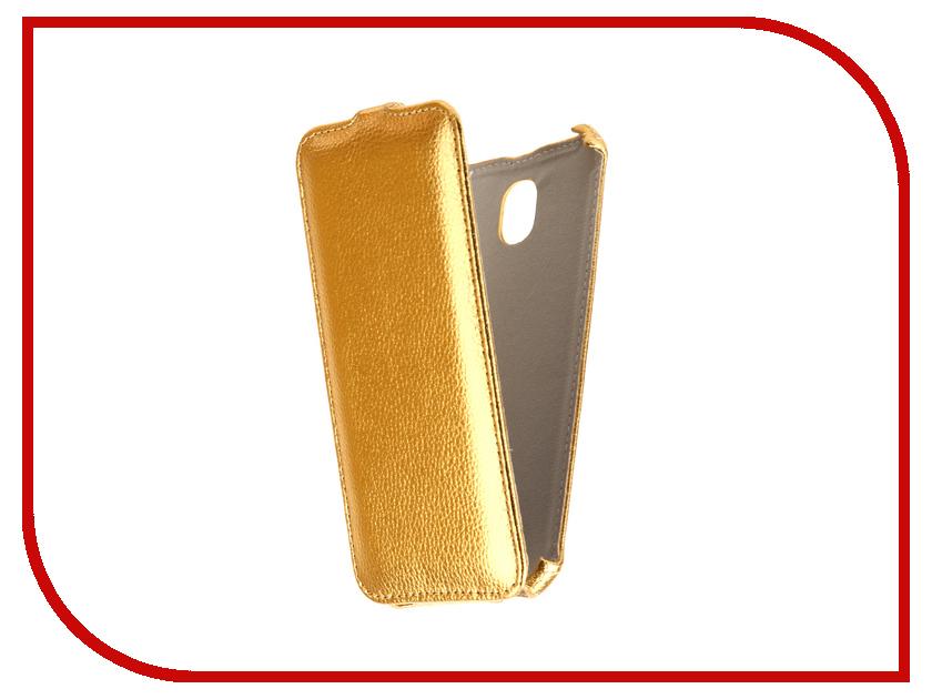 Аксессуар Чехол Samsung Galaxy J7 2017 J730F Svekla Gold FL-SVSAMJ730F-GOLD аксессуар чехол samsung galaxy j7 2017 sm j730f wallet cover gold ef wj730cfegru