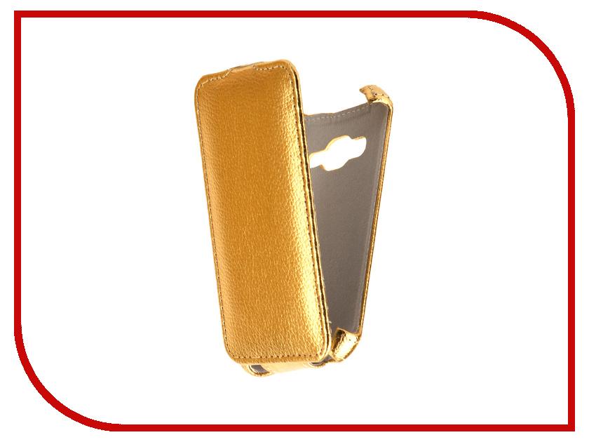 Аксессуар Чехол Samsung J106F Galaxy J1 mini Prime Svekla Gold FL-SVSAMJ106F-GOLD аксессуар чехол samsung galaxy j5 prime g570f svekla black fl svsamg570f bl