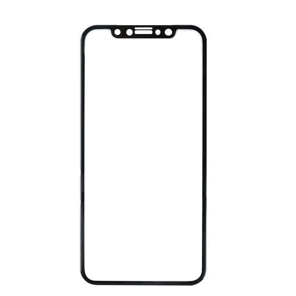 Аксессуар Защитное стекло Svekla для APPLE iPhone X 3D Black Frame ZS-SVAPX-3DBL аксессуар защитное стекло samsung galaxy a5 2017 a520f svekla 3d white frame zs svsga520f 3dwh