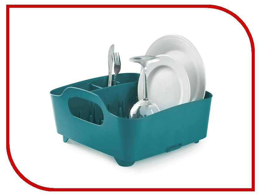 Сушилка для посуды Umbra Tub Blue-Green 330590-635 органайзер для шарфов umbra pendant треугольный