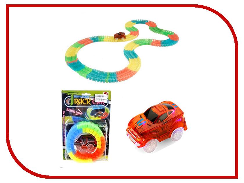 Автотрек 72Toys Tracks Car 56 дет. IN0391 набор маленький трек с умной машинкой поли