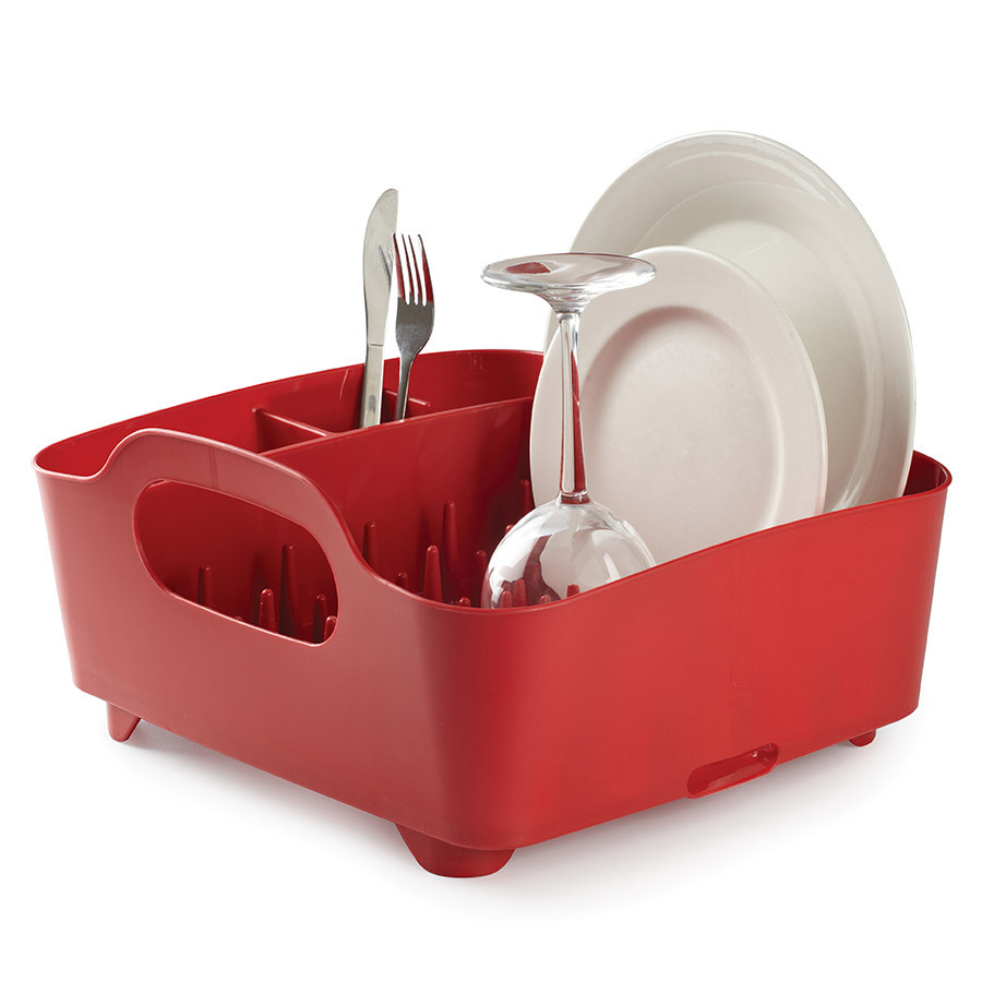 Сушилка для посуды Umbra Tub Red 330590-505