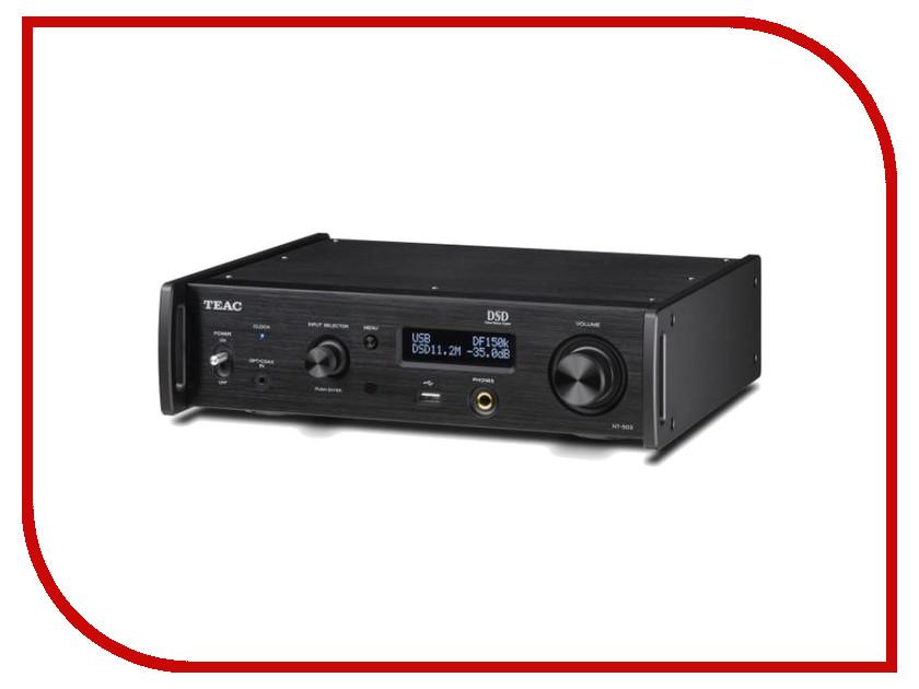 Сетевой аудио проигрыватель Teac NT-503 Black цены онлайн