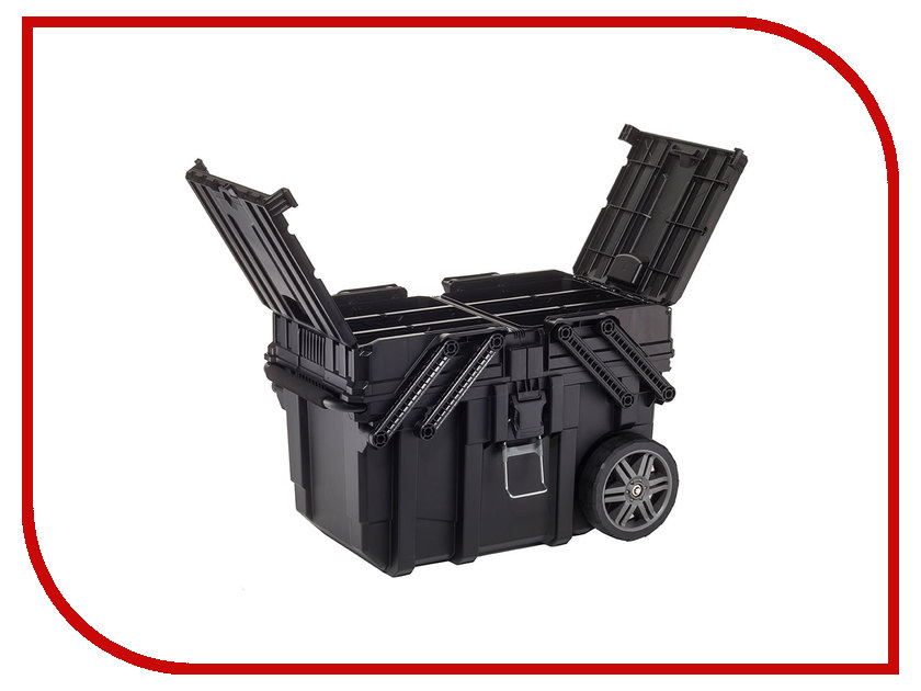 Ящик для инструментов Keter Cantilever Mobile Cart 17203037 keter 220927 tool box cart 22 25 inch