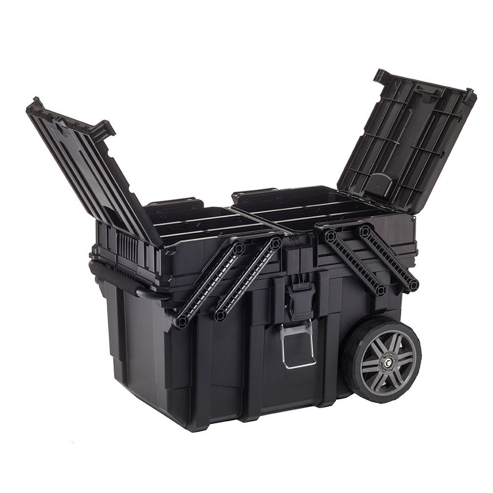Ящик для инструментов Keter Cantilever Mobile Cart 17203037 цены онлайн