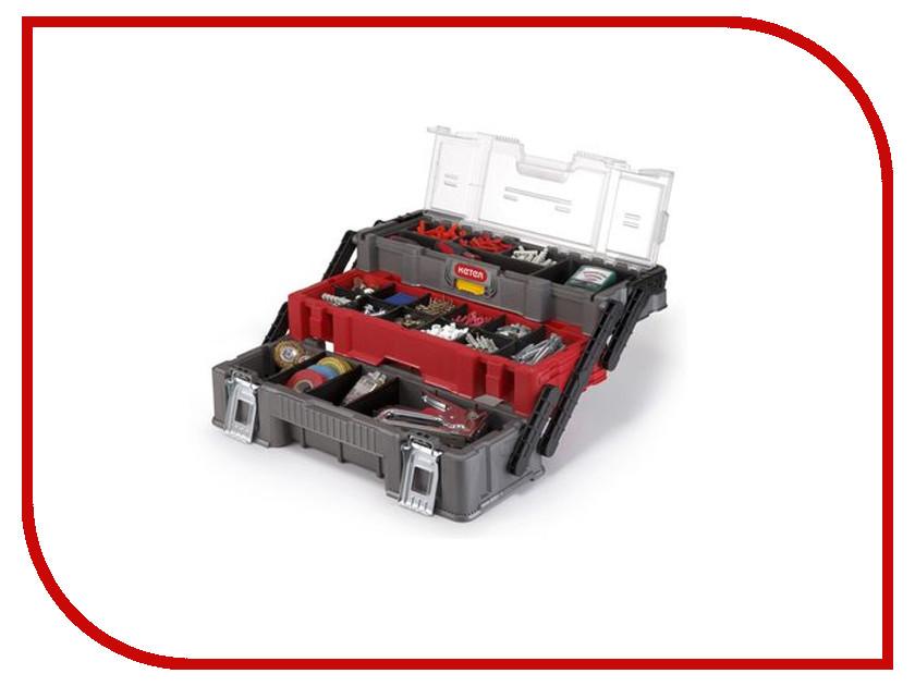 Ящик для инструментов Keter Canti Trio organizer 17198033 keter cantilever tool box 22 canti combo