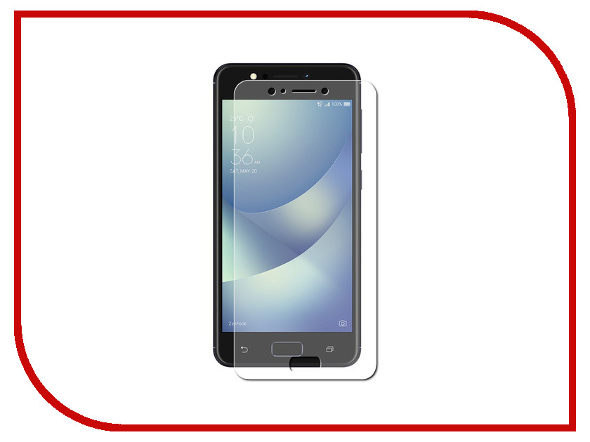 Аксессуар Защитное стекло ASUS Zenfone 4 Max ZC520KL LuxCase 0.33mm 82315 new touch screen digitizer for 8 irbis tz851 tablet capacitive touch panel glass sensor replacement free shipping
