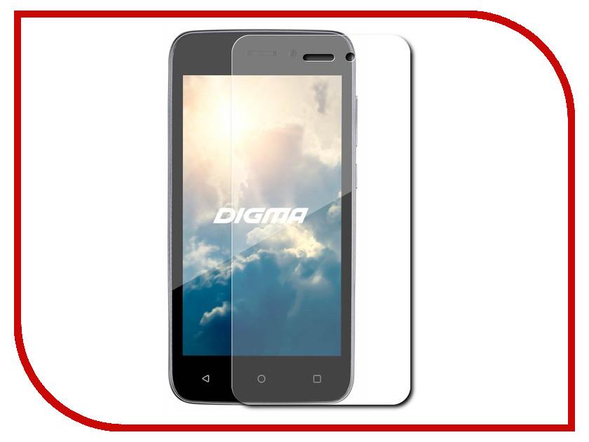 Аксессуар Защитное стекло Digma Vox G450 LuxCase 0.33mm 82137 смартфон 5 digma vox s505