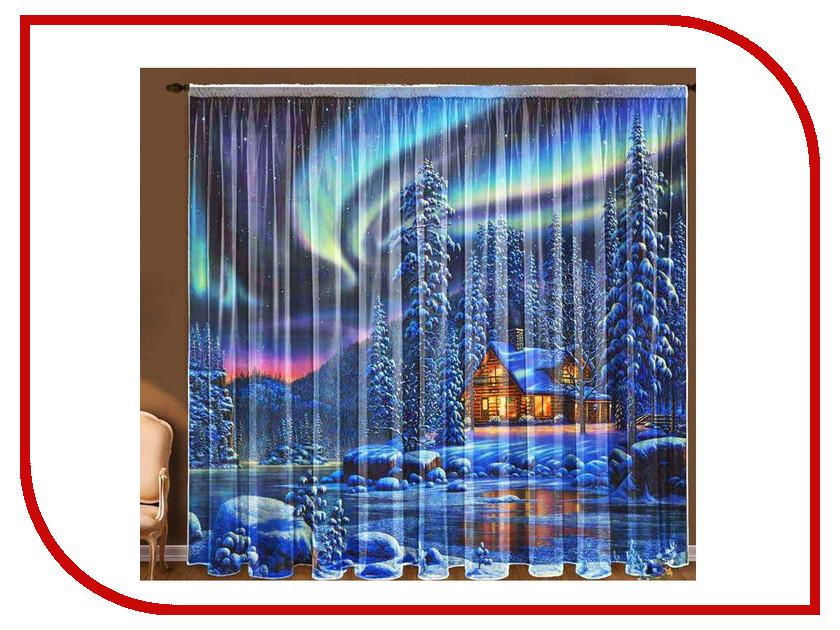 Тамитекс Тюль Северное сияние 145x270cm 1187679 гирлянда холодный цвет северное сияние