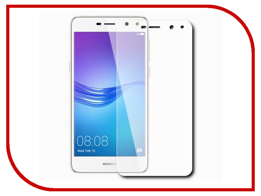 Аксессуар Защитная пленка Huawei Y5 2017 LuxCase суперпрозрачная 56423