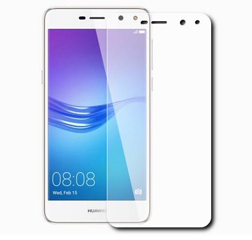 Аксессуар Защитная пленка LuxCase для Huawei Y5 2017 суперпрозрачная 56423 luxcase защитная пленка для microsoft lumia 650 суперпрозрачная