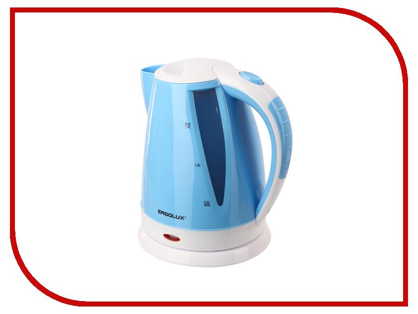 Чайник Ergolux ELX-KP02-C35 Light Blue-White 13118