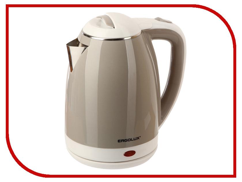 Чайник Ergolux ELX-KS02-C18 Beige-White 13121 ergolux elx hd03 c64 фен