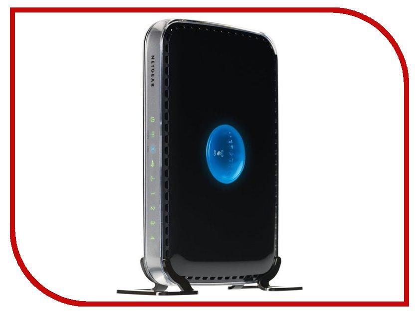 Wi-Fi роутер Netgear WNDR3400-100PES netgear r8500 nighthawk smart ac5300 black маршрутизатор